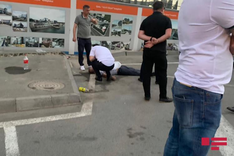 Bakıda federasiya sürücüsü döyülərək öldürülüb - FOTO