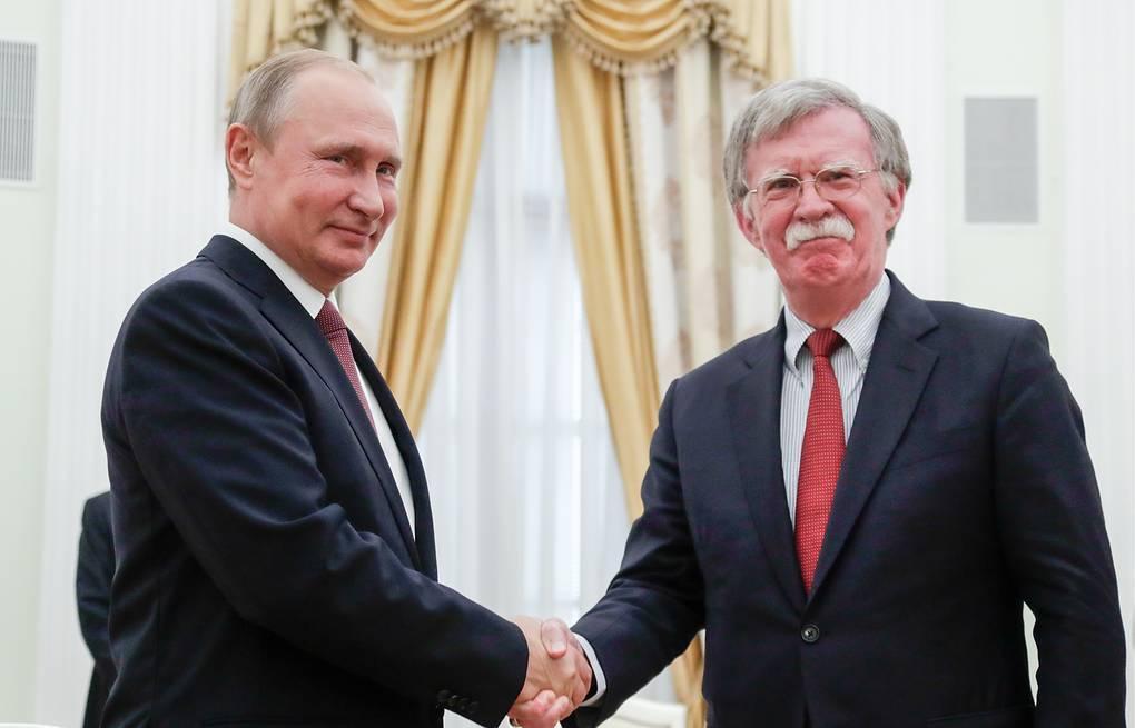 Bolton Putinin də sirlərini açdı -