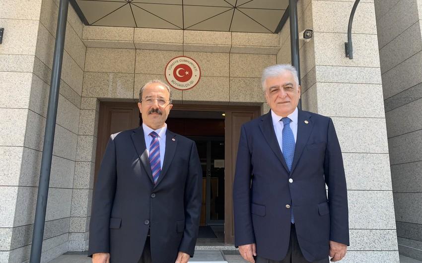 Türkiyə-Azərbaycan Parlamentlərarası Dostluq Qrupunun rəhbəri -