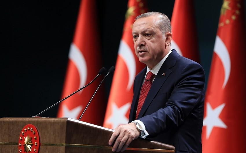 """""""Türkiyənin təhdidə boyun əyməyəcəyini anlayıblar"""" - Ərdoğan"""