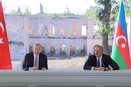 PREZİDENTLƏR BİRGƏ BƏYANATLA ÇIXIŞ ETDİLƏR