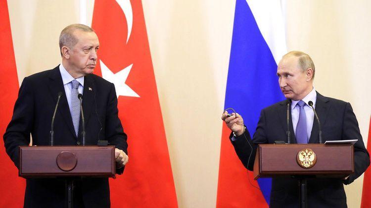 Ərdoğanla Putin telefonla danışıblar