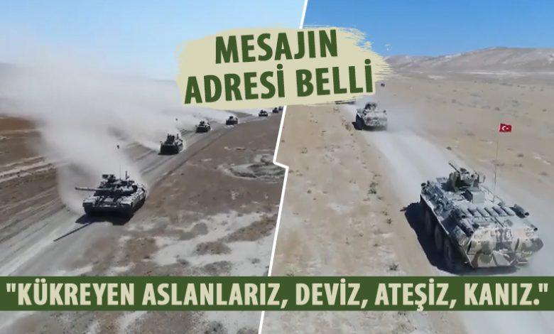 """""""KÜKREYEN ASLANLARIZ, ATƏŞİZ, KANIZ...""""   -"""