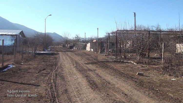 Ağdamın Yeni Qaralar kəndi - VİDEO