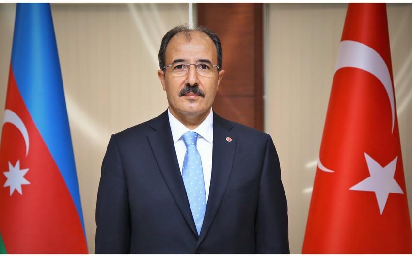 Türkiyənin Azərbaycandakı səfiri müraciət yayıb