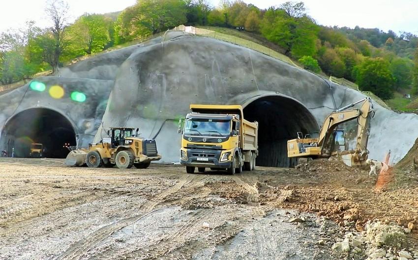 Toğanalı-Kəlbəcər avtomobil yolu üzərində Murovdağ tunelinin inşası