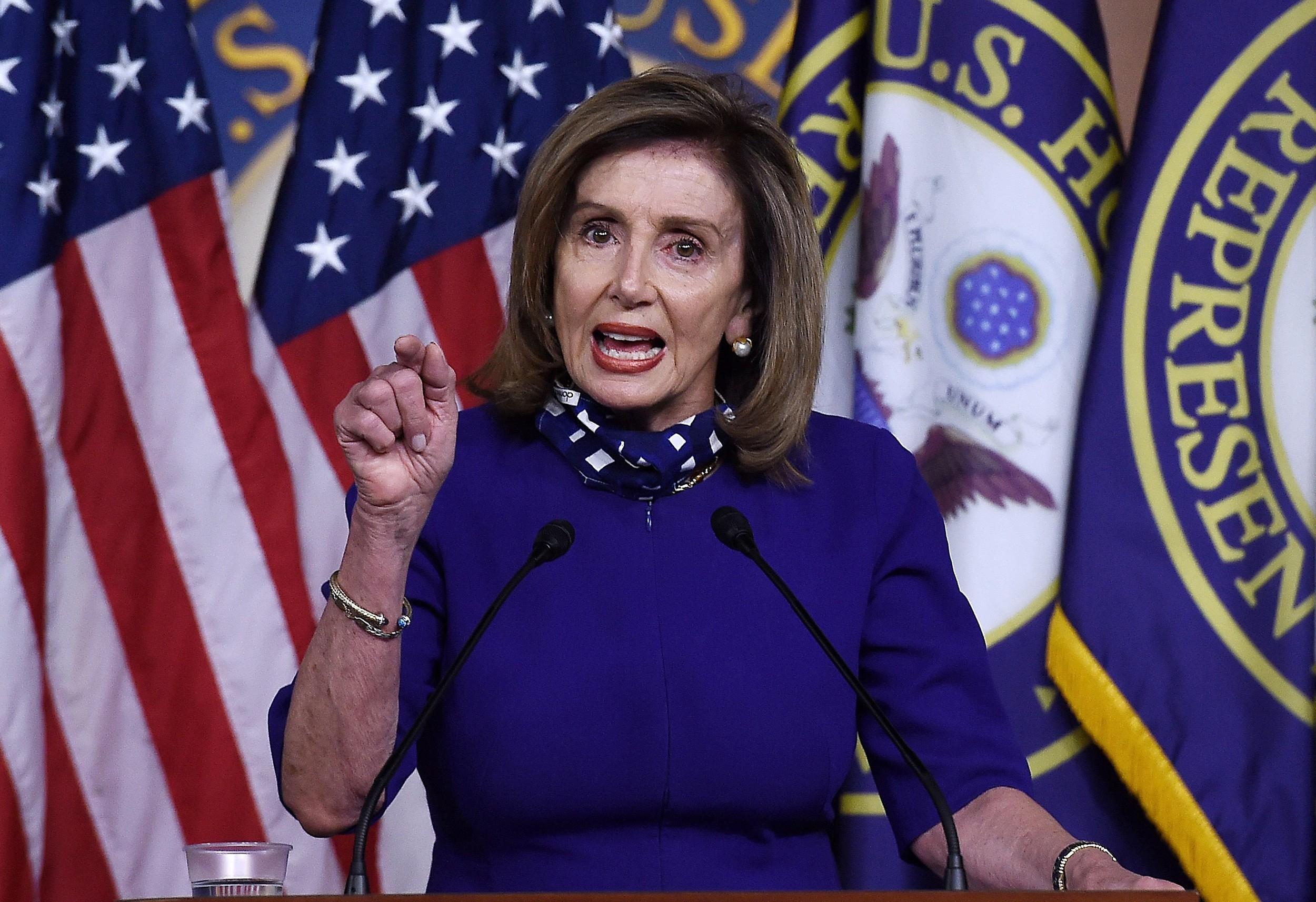 Nensi Pelosi yenidən Nümayəndələr Palatasının sədri seçilib