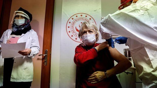 Türkiyədə bir milyondan artıq insana koronavirusa qarşı peyvənd vurulub