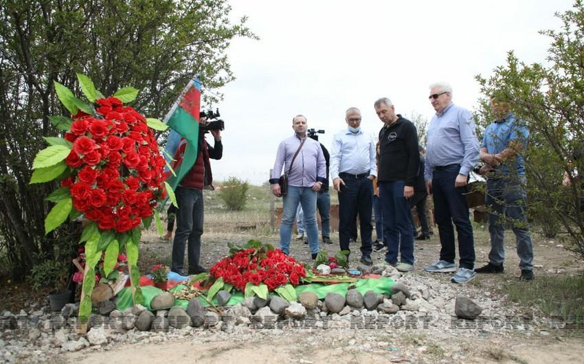 Rusiyalı deputatların Ağdamdakı erməni vandalizmi barədə təəssüratları - VİDEO