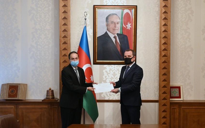 Azərbaycan XİN başçısı dəstəyə görə  -