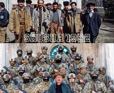 Şuşa 1992 və 2020-ci illərdə - FOTO