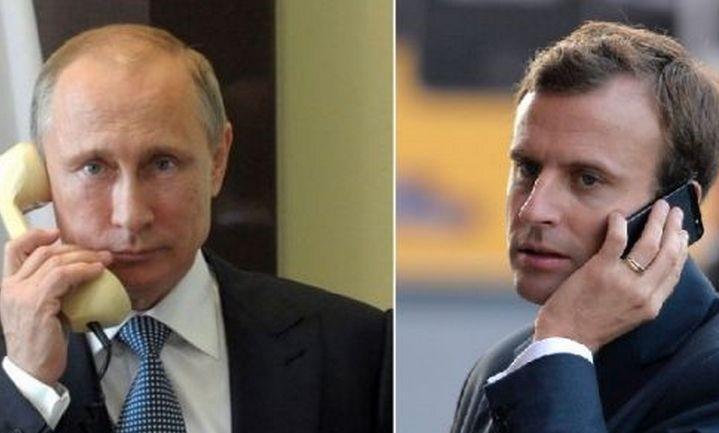 QARABAĞ ƏTRAFINDA YENİ MƏKRLİ OYUN - Putin və Makronun