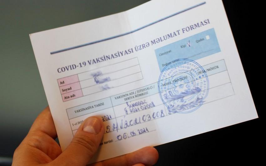 Saxta COVID-19 pasportu satan tibb qardaşı barəsində cinayət işi başlanılıb