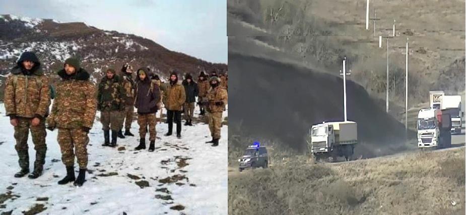 ŞUŞA-QIRMIZI BAZAR YOLU VƏ QAZAXIN İŞĞALDAKI KƏNDLƏRİ...-