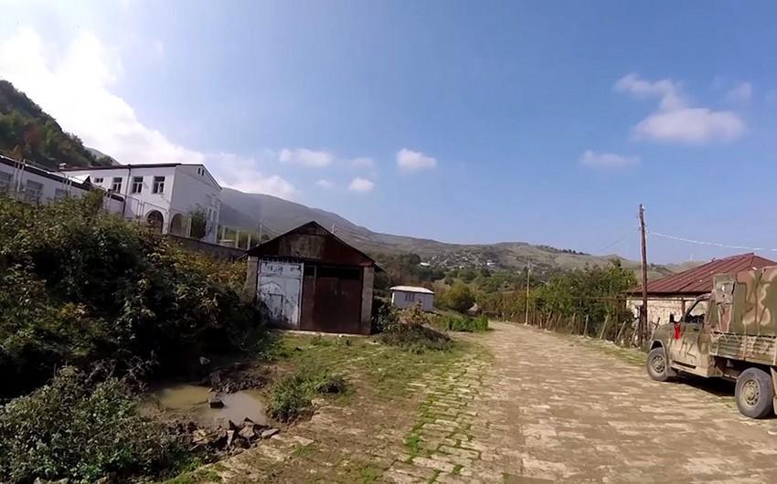 Xocavənd rayonunun işğaldan azad olan kəndlərinin videogörüntüsü -